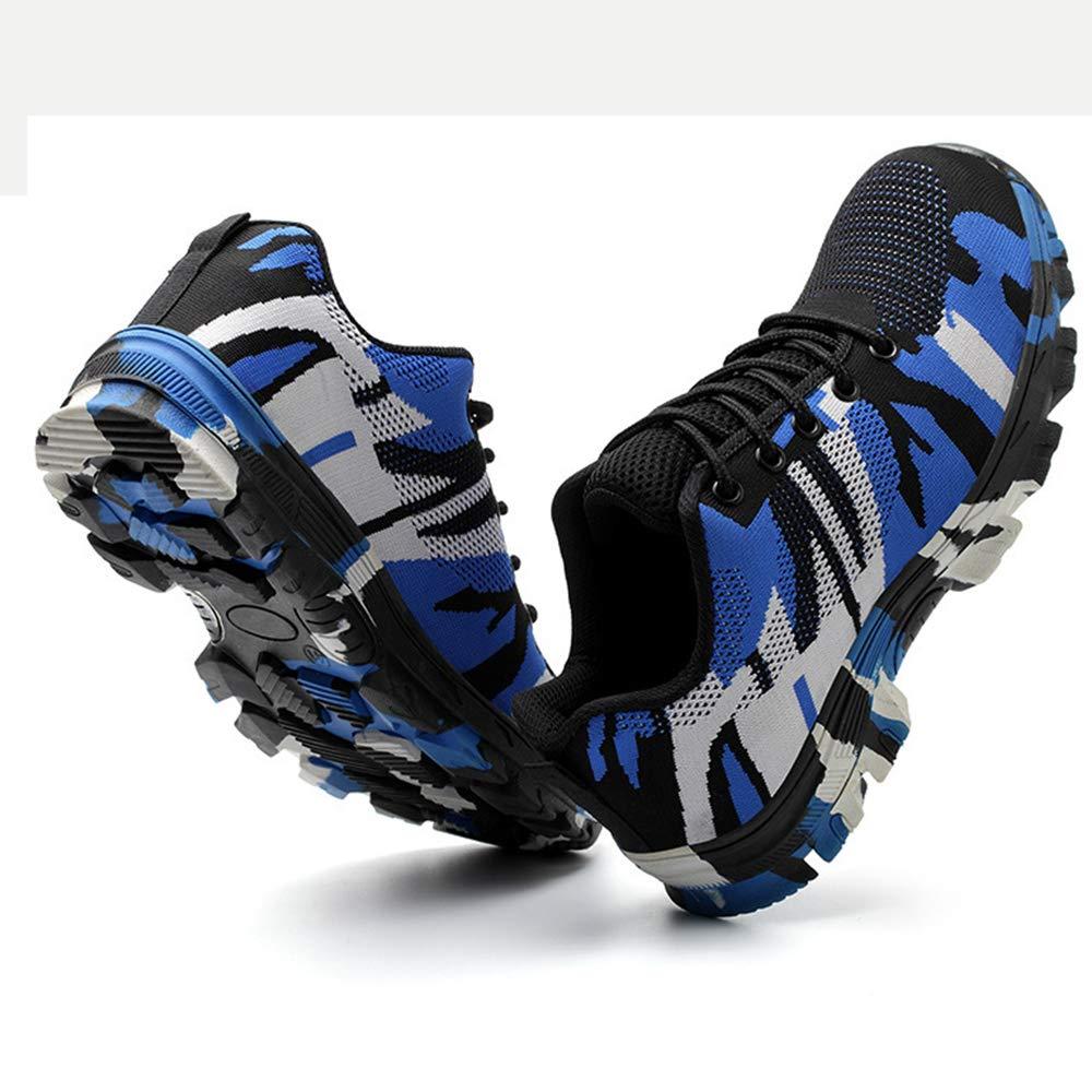 LH Männliche Anti-Maling-Anti-Piercing Stahl-Zehenkappe Schuhe leichte Sicherheitsschuhe tarnen tragende Rutschfeste tragende tarnen Arbeitsschuhe,42 02a3c7