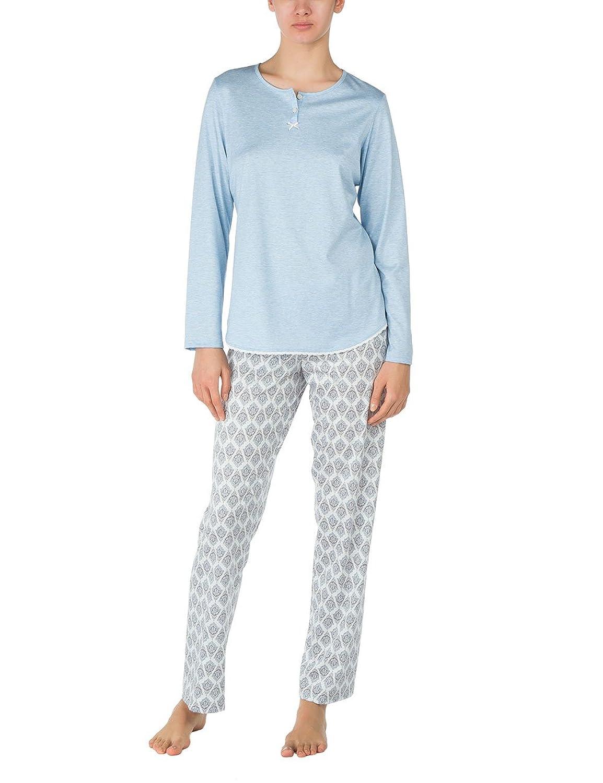 Calida Damen Zweiteiliger Schlafanzug Pyjama Cosmopolitan
