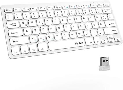 Jelly Comb Teclado inalámbrico 2.4G para PC, computadora ...