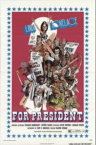 Linda Lovelace for President 1975 Authentic 27
