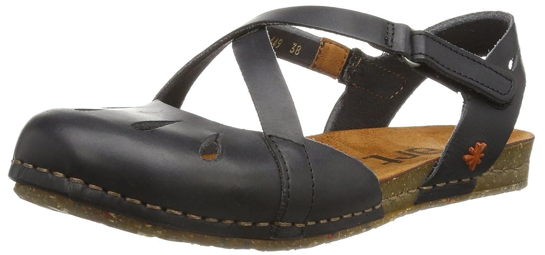 ART Creta 442-1 - Zapatos abiertos para mujer, color negro, talla 37