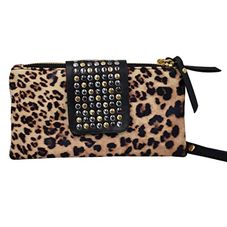 Millya - Cartera de mano para mujer leopard?print