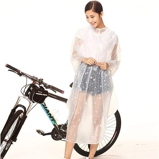 AINUO Impermeable para Bicicletas Equitación Femenina Impermeable ...