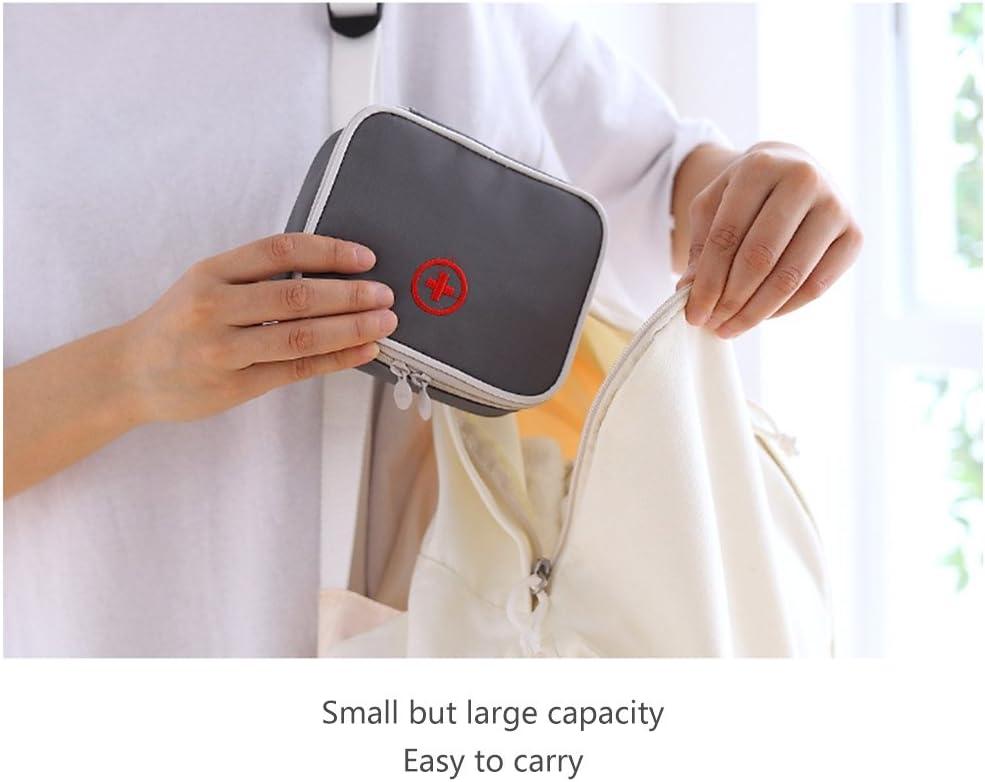 Travel First Aid Bag Vider BAFFECT/® Kit de secours /à l/épreuve de leau Sac de stockage de m/édicaments Sacoche dorganisation m/édicale Sac de sac de premiers soins pour les activit/és en plein air Voyage Camping Sport