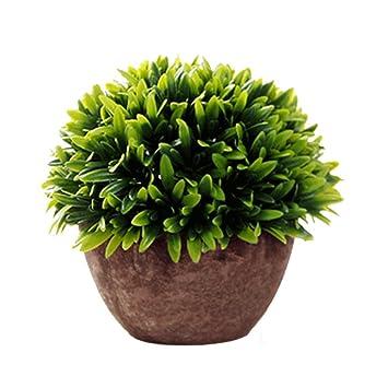 Westeng Plastikpflanzen Mit Tontopf Kunstliche Pflanzen Mit