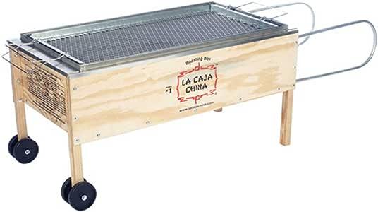 La caja china Cajas Sau # 1 Roasting Caja cerdo Barbacoa: Amazon.es: Jardín