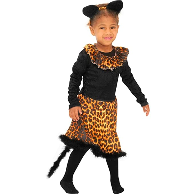 Girlu0027s Cat Costume (Size Small ...  sc 1 st  Amazon.com & Amazon.com: Girlu0027s Cat Costume (Size: Small 6-8): Clothing