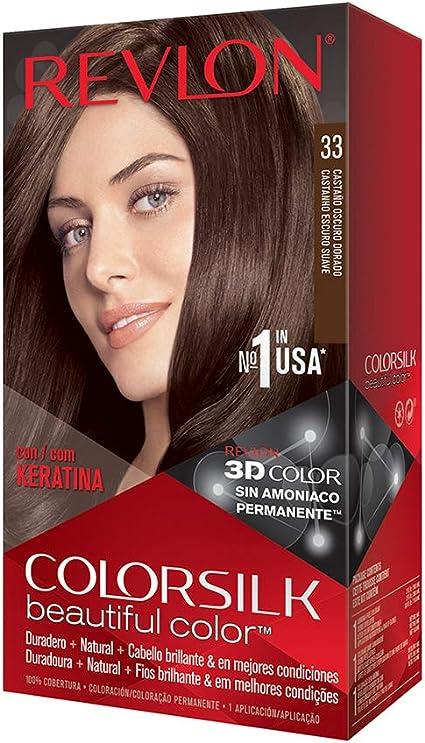 Revlon Colorsilk Haircolor, Dark Soft Brown, 4.4 Ounces by Revlon