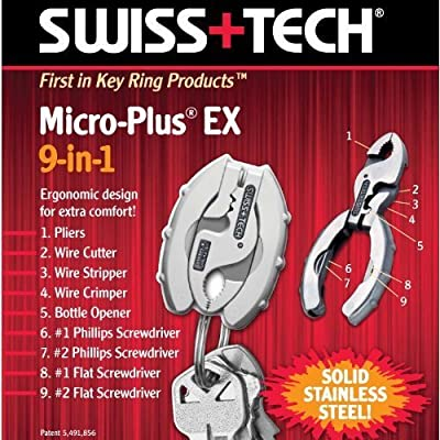 Swiss+Tech Micro-Plus 9-in-1 Tool by Swiss+Tech