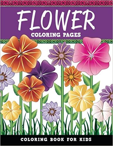 Flower Coloring Pages Coloring Book For Kids Mandala Artwork