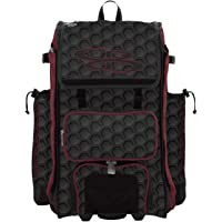 """Boombah Rolling Catchers Superpack Baseball/Softball Gear Bag 3DHC - 23-1/2"""" x 13-1/2"""" x 9-1/2"""" - Multiple Colors…"""
