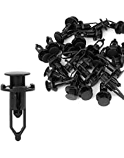 uxcell 30pcs Fender Bumper Clips Rivets Retainer Fasteners 52161-02020