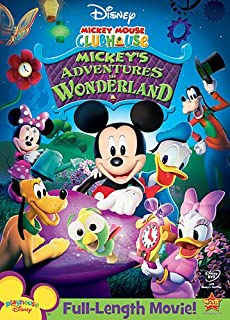 disney mickey mouse clubhouse mickeys adventures in wonderland - Mickey Mouse Christmas Movies