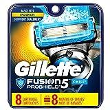 Gillette Fusion5 ProShield Chill Men's Razor Blade Refills, 8 Count