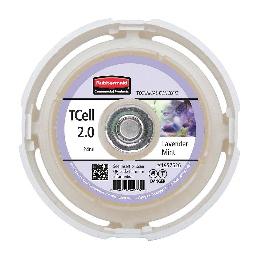 Rubbermaid Commercial 1957525 Aerosol Air Care TCell 2.0 Refill Marine Fresh