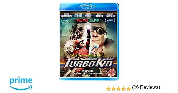 Turbo Kid Edizione: Regno Unito Reino Unido Blu-ray: Amazon.es: Cine y Series TV