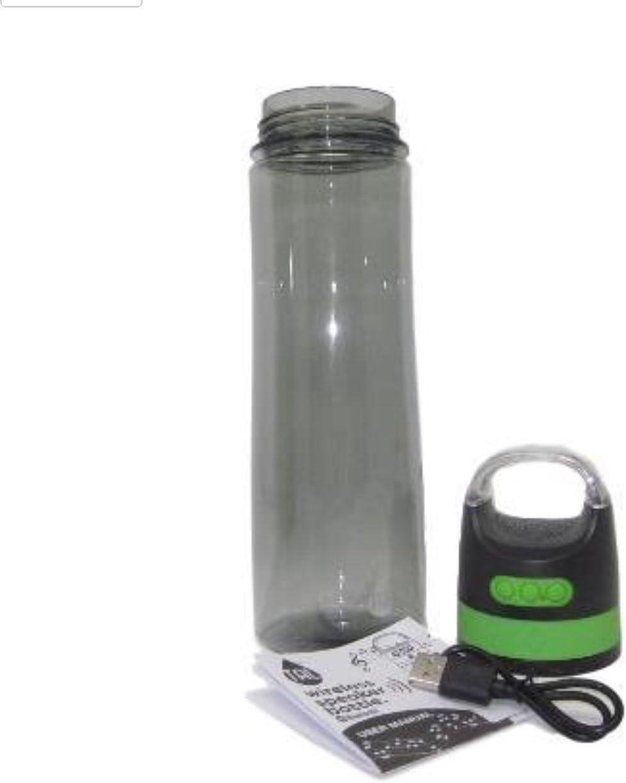 TAL Bluetooth Wireless Speaker Water Bottle (Green)