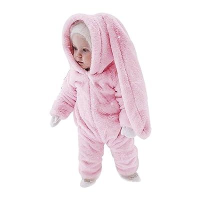 Pyjama Ensemble Enfant Bébé Combinaison Hiver Forme Animal Déguisement Manteau Chaud