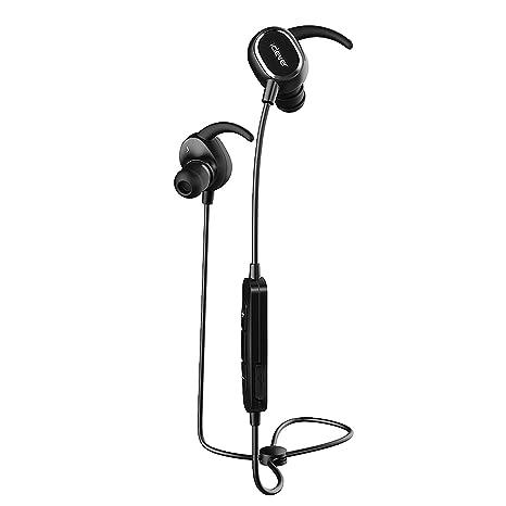 Auriculares deportivos con bluetooth iClever, con radio v4.1. Auriculares In