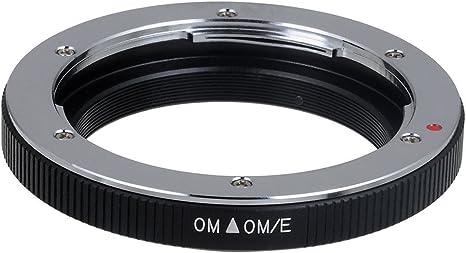 OM-4//3 Metal Lens Mount Adapter Camera Lens Mount Adapter Ring for Olympus OM Lens to for 4//3 Mount Camera E510 E500 E400