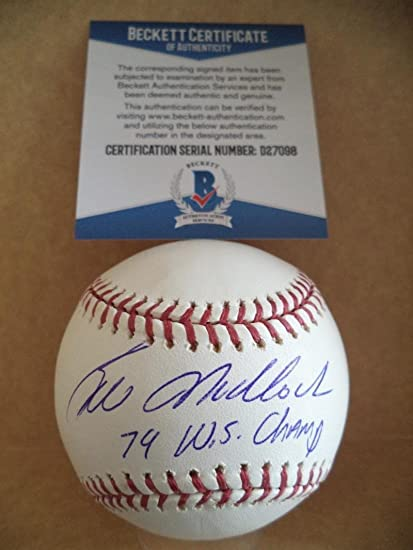 Sporting Jameson Taillon pittsburgh Pirates Signed Official Mlb Baseball W/ Beckett Coa Traveling