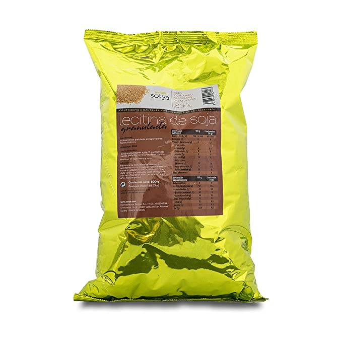 SOTYA Lecitina de Soja granulada bolsa 800 gr