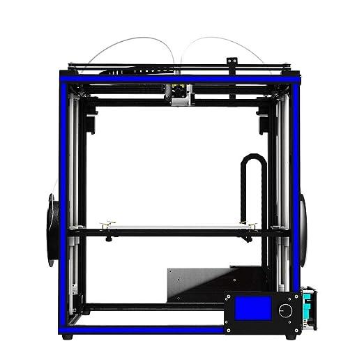 Z.L.FFLZ Impresora 3D X5ST-2E Impresora 3D 2 en 1 Extremo Extremo ...
