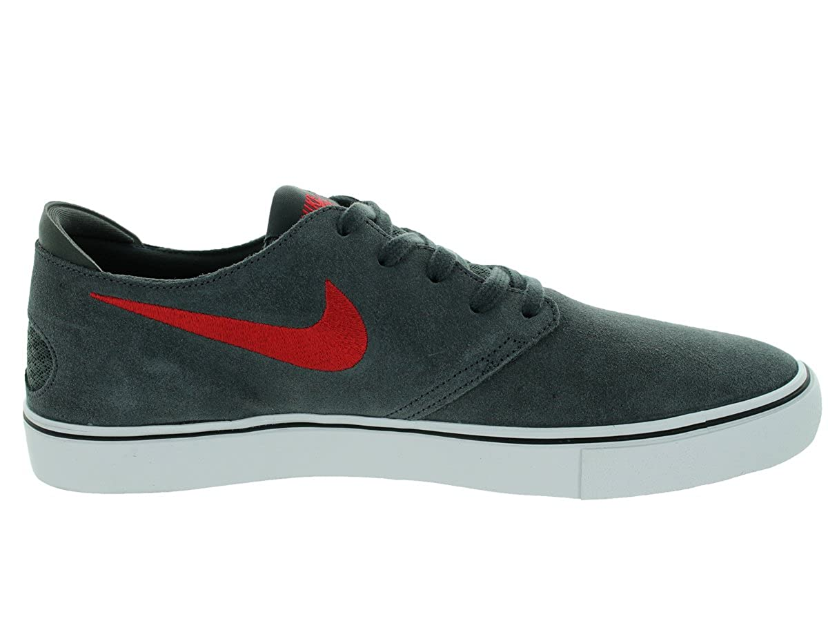 reputable site 41f5e 85fd8 Nike Men s Oneshot SB Anthracite Gym Red Black White Skate Shoe 10 Men US   Buy Online at Low Prices in India - Amazon.in
