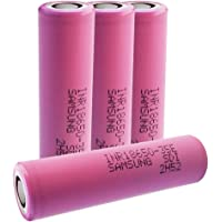 Samsung, 4 batterie INR18650-35E (3,7 V, 3.500 mAh)