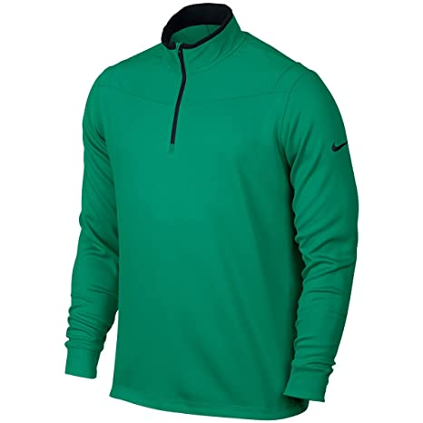 3c8aa822a Buy Nike Golf Dri-Fit 1/2 Zip Longsleeve (Teal Charge/Black) M Online at  Low Prices in India - Amazon.in