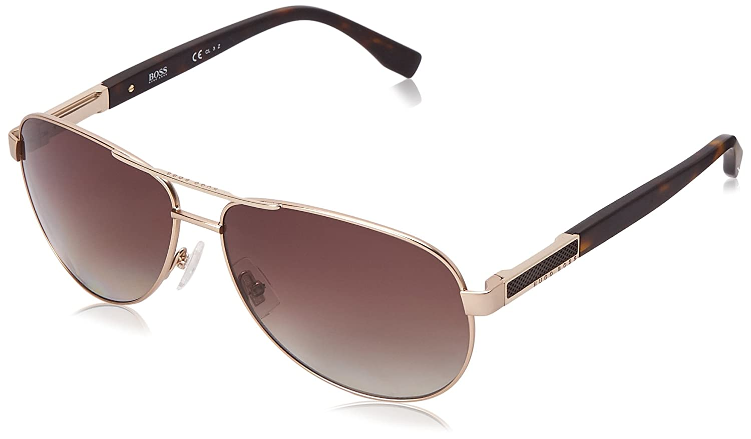 c64d0cf6d8 Amazon.com  BOSS by Hugo Boss Men s B0705ps Aviator