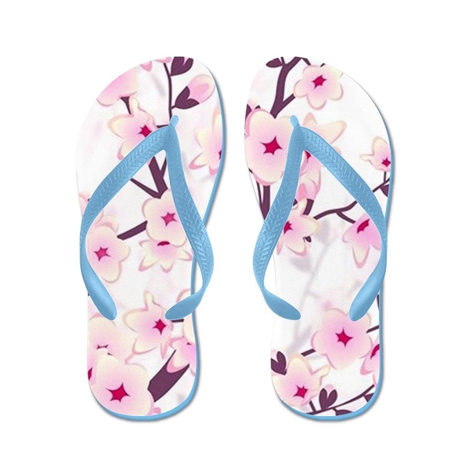 Lplpol Pink Paw Print Flip Flops for Kids and Adult Unisex Beach Sandals Pool Shoes Party Slippers