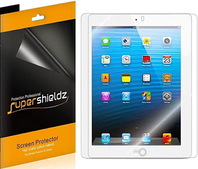 New  Apple Real Tempered Glass Film Screen Protector For Apple iPad 4//3//2//