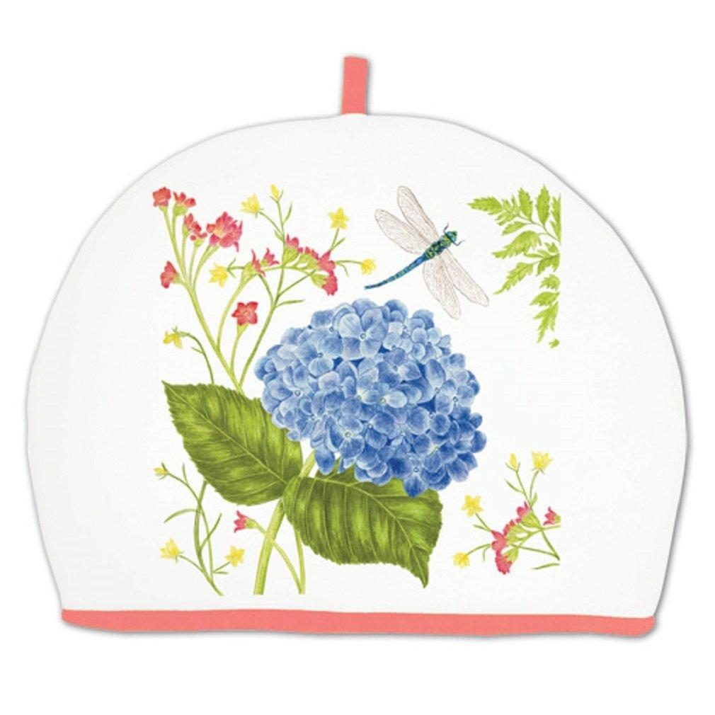Alice's Cottage Blue Hydrangea Cotton Tea Cozy Cosy, New