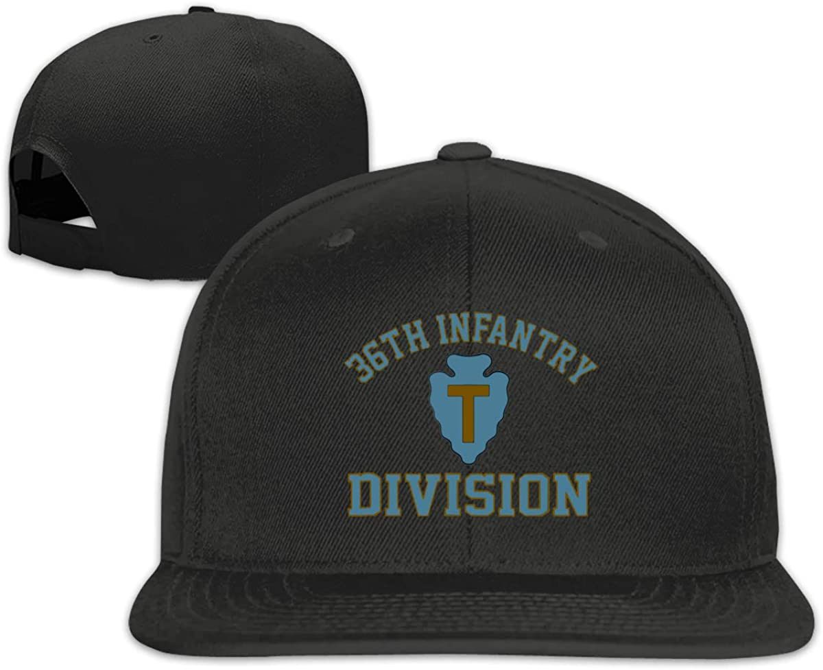 36th Infantry Division Unisex Adult Hats Classic Baseball Caps Sports Hat Peaked Cap