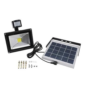 18 LED Solar Power Motion Human Sensor Security Lamp Outdoor Waterproof Light UK