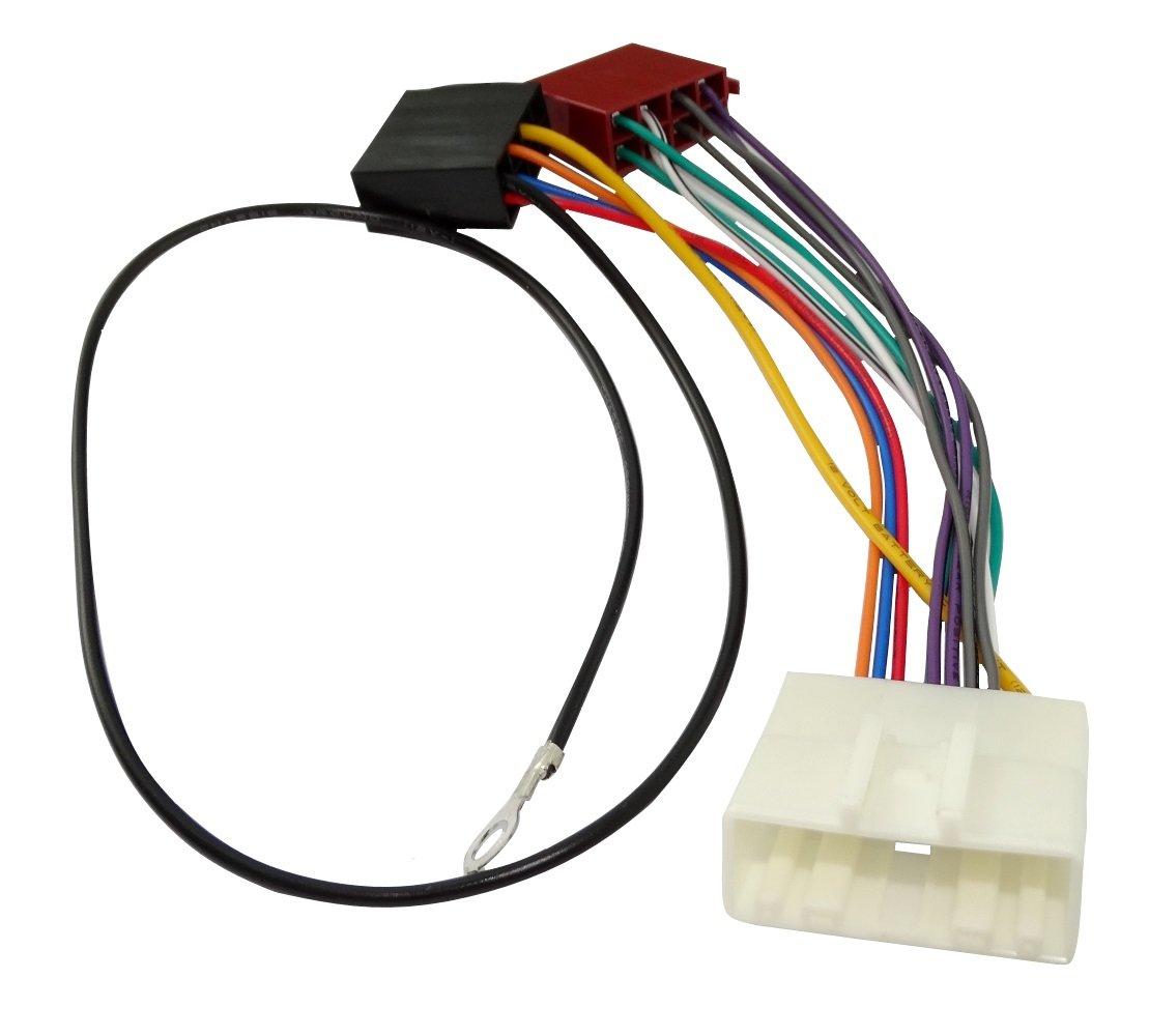 Aerzetix - Cavo connettore autoradio ISO AK8 adattatore cavetto alimentazione . 3800946235651