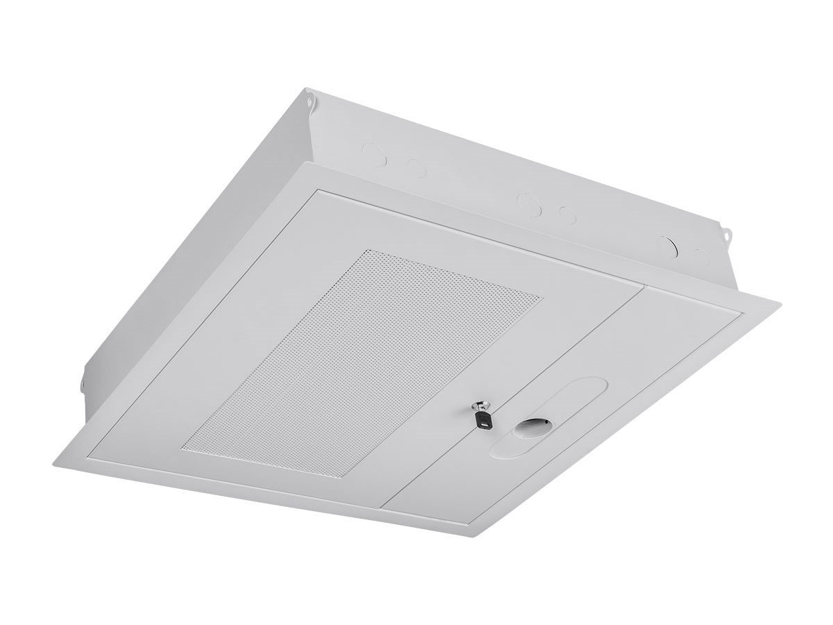 Monoprice Entegrade 2 x 2 ft. False Ceiling Equipment Storage Enclosure with Integrated Pipe Coupler