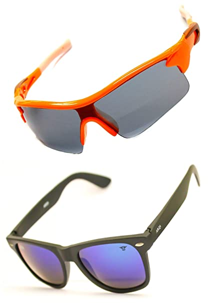 ee071cbd2d Abqa Trends Prime Top Seller Original Unisex Gladiator MVIP BUY IT NOW  Cricket Biking Driving Running Sports Sunglasses  Amazon.in  Clothing    Accessories