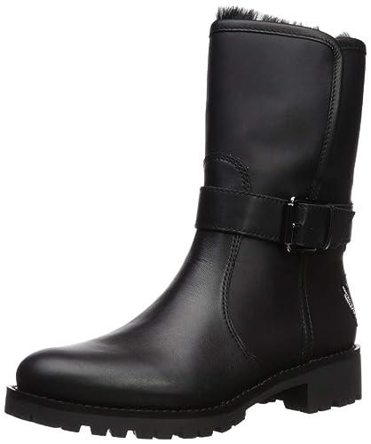 253627fb2 Sam Edelman Women s Jeanie Chelsea Boot Black Leather 6 ...