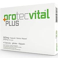 Protecvital Plus Pillen Markenprodukt Kapseln für Männer - 100% Natürlich für Männer - Wirkungsvolle Natürliche Alternative zu Potenzmittel