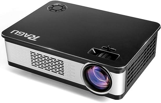 Proyector, RAGU Z720 3200 Lúmenes Full HD LED Proyectores ...