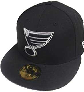 New Era St. Louis Blues Black White 59fifty Fitted Cap Basecap Limited  Edition 6f489af6ed21
