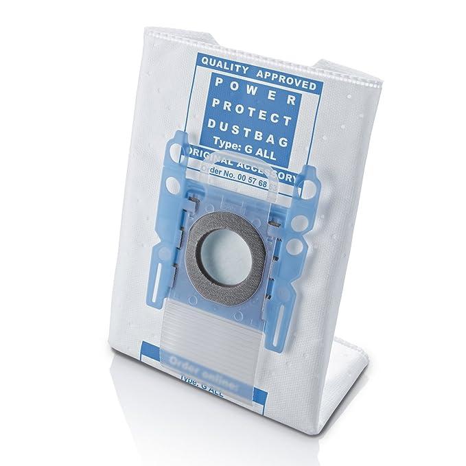 10 sacchetti per aspirapolvere tipo BS 216m inclusi  filtri con chiusura igienica adatti per Siemens VSZ3B210 e VSZ3B212 per aspirapolvere highpower a 5 strati serie Z 3.0