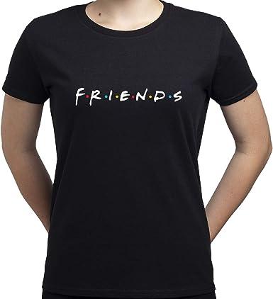 EUGINE DREAM Friends Logo Camiseta para Mujer: Amazon.es: Ropa y accesorios