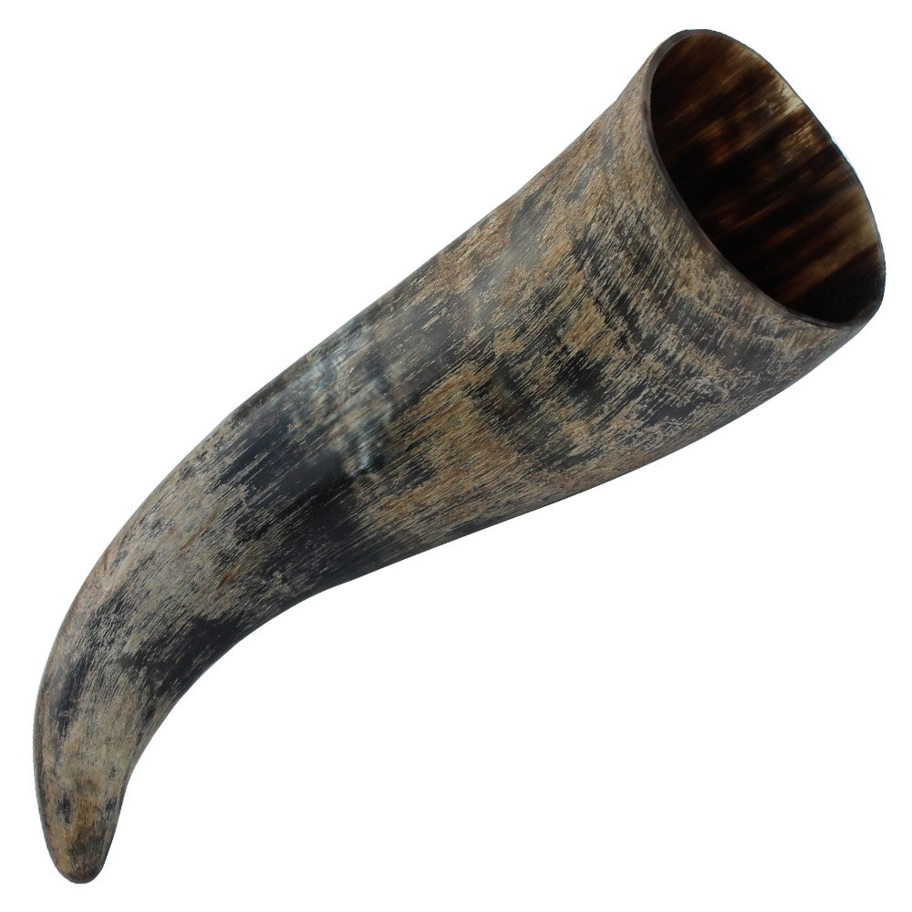Medieval Distressed Raider Viking Drinking Horn with Rack by Armory Replicas   B0161KSYDC