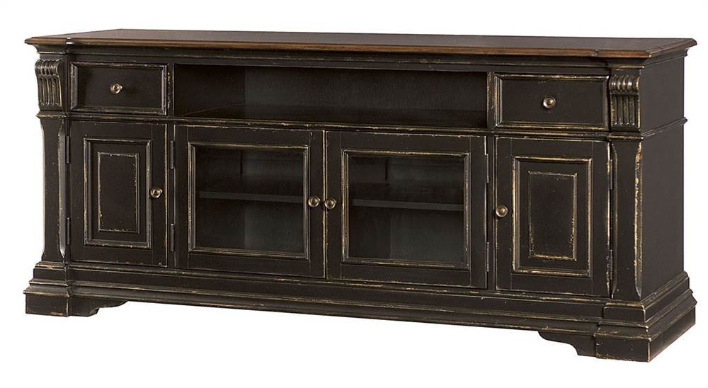 Hammary Entertainment Console in Pretzel Brown by Hammary