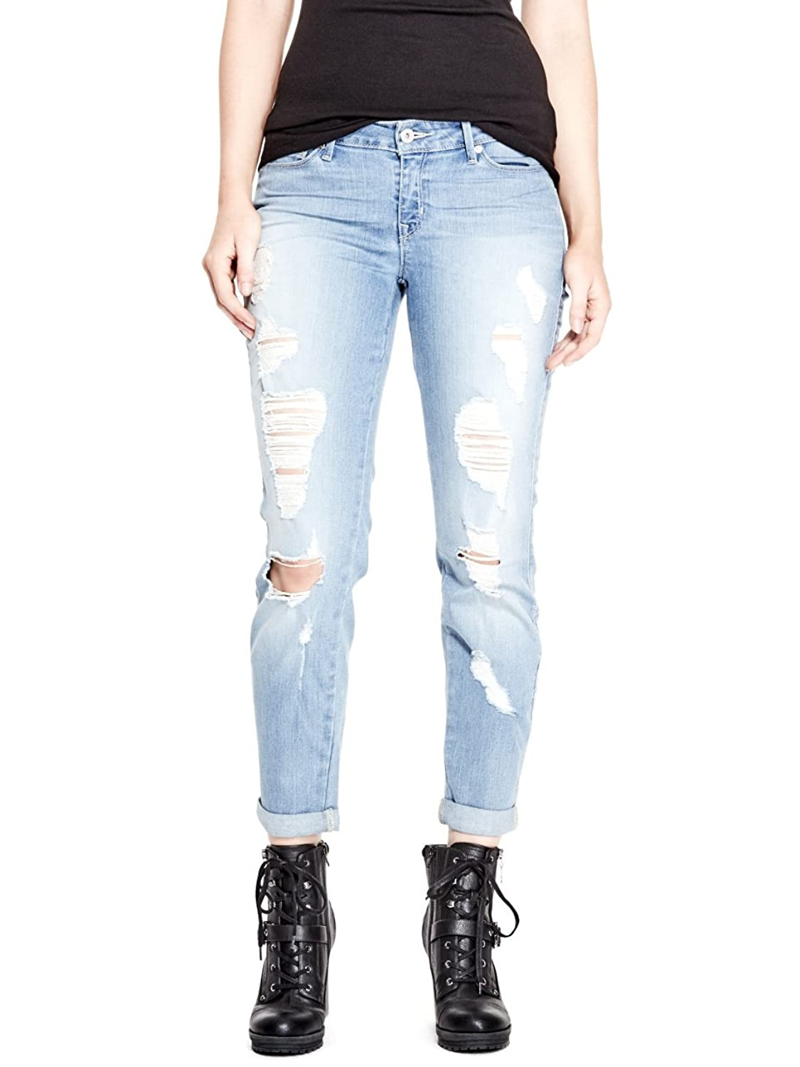G by GUESS Women's Lianna Destroyed Skinny Jeans