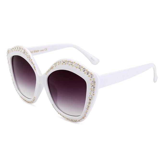 Amazon.com: Royal niña Cat Eye anteojos de sol Para Mujer ...