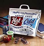 Hot Cold Bag   Insulated Thermal Cooler, Lunch Size, Pack of 5